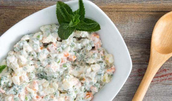 Kako je nastala ruska salata?